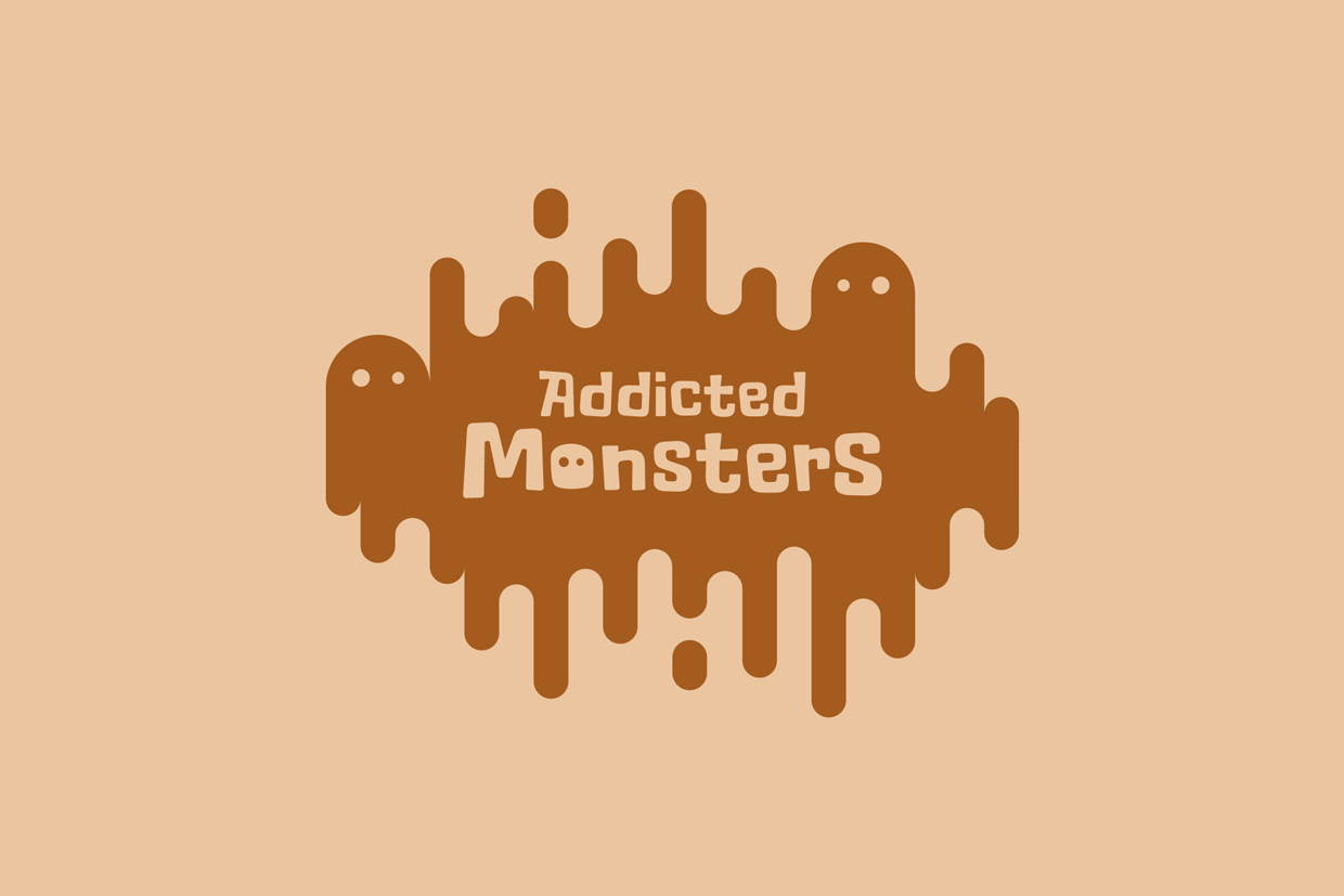 Addicted Monsters - Cover Illustration