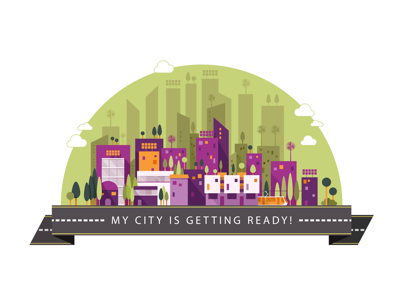Making Cities Resilient - Resilient City Illustration