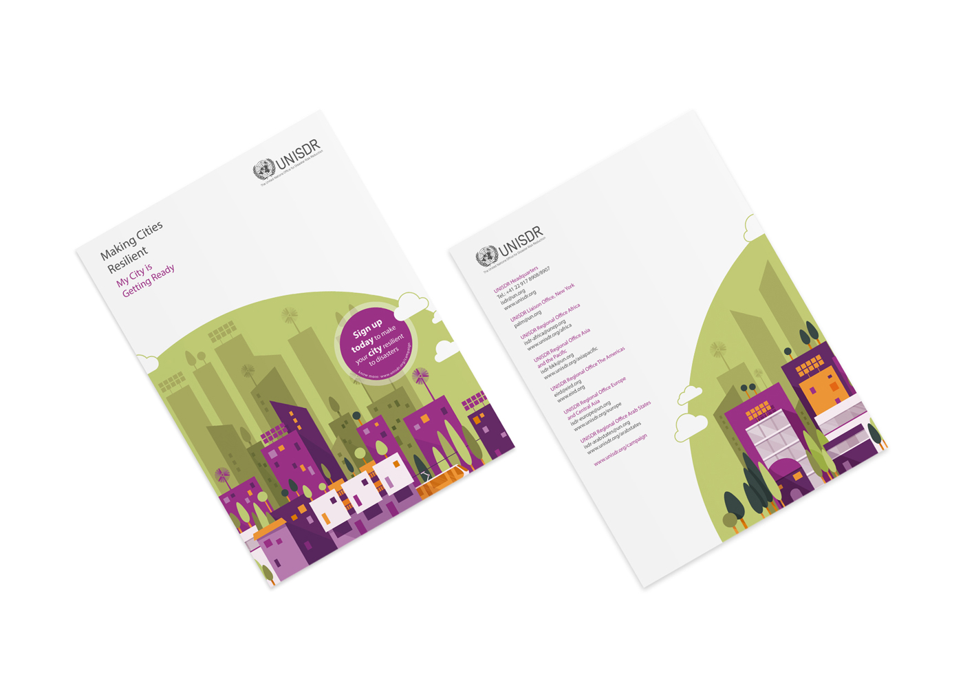 Making Cities Resilient - A4 Posters