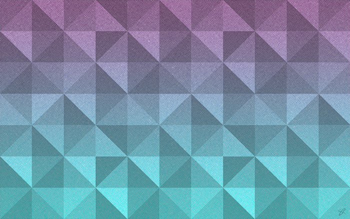 polygons pink turquoise wallpaper thumbnail
