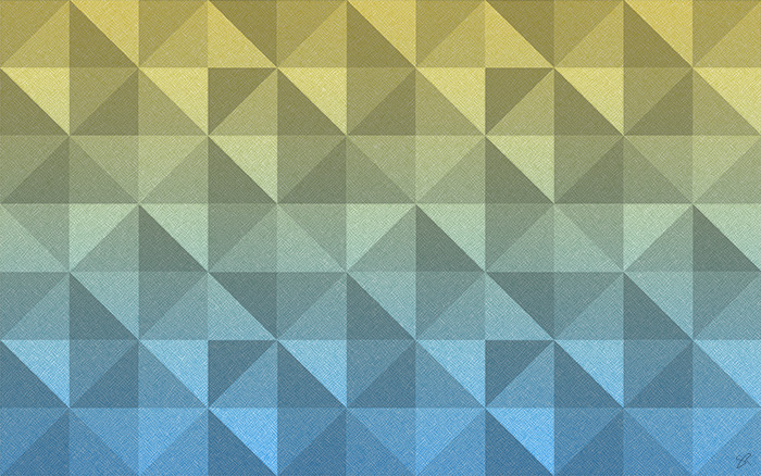 polygons yellow blue wallpaper thumbnail